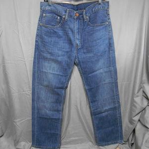 NWT Levi Strauss straight leg jeans men's 34x30